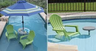 In pool furniture Inflatable Interfab Inpool Furniture