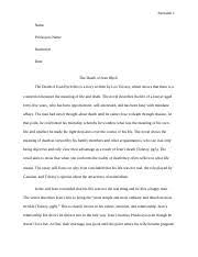 Untitled document - From the outset of the novel it is clear that Tolstoy  believes there are two types of lives the artificial life\u2014represented  by | Course Hero