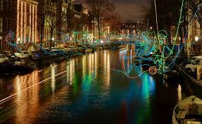 Van Gogh Museum Amsterdam Light Show Amsterdam Light Festival I Amsterdam