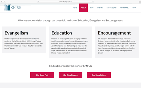 Cmj Designs A New Website Design For An Old Charity Phil Bowell Design