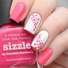 Pink Nail Art Design 25 Cute Pink Nail Art Designs 2019 Hairstyles 2u
