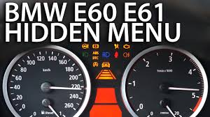 All BMW Models bmw 120d warning lights : BMW E60 E61 hidden menu OBC - mr-fix.info