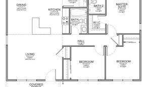 small bedroom house floor plans house