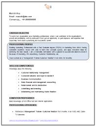Curriculum Vitae Resume Professional Curriculum Vitae Resume Template Sample Template Of