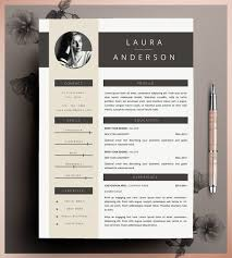 Etsy Resume Template Stunning Etsy Resume Template Qualified Creative Resume Template Cv Template