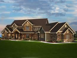 RUSTIC HOUSE PLANS   Elk Trail Rustic Luxury Home Plan 101S-0013   House  Plans