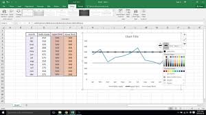 Control Chart Excel Control Chart Excel 2016 Video 42