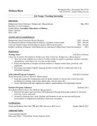 Transfer Student Resume  Resume Examples for Transfer Student Resume