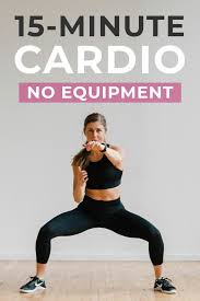 15 minute hiit cardio workout no