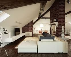 furniture for loft. loft furniture for living room in white color floating tv desk a vase as