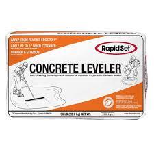Self Leveling Coverage Chart Rapid Set 50 Lb Cts Concrete Leveler