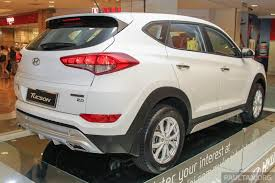 2016 Hyundai Tucson White Red Showcased In Malaysia