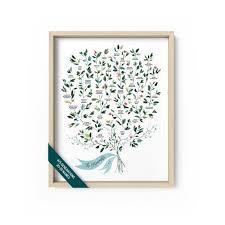 Custom Family Tree Family Tree Print Family History Family Tree Chart Family Tree Wall Art 4 5 Generations Watercolor Ruscus