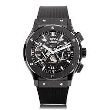mens hublot watches the watch gallery hublot classic fusion black magic mens watch 525 cm 0170 rx