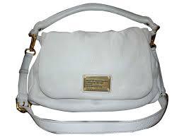 marc by marc jacobs marc by marc jacobs classic q lil ukita bag handbags leather white