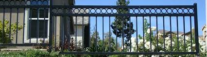 simple wrought iron fence. Wrought Iron Fences Simple Wrought Iron Fence
