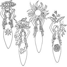 Small Picture Pagan Coloring Pages 5570