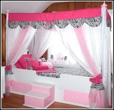 Twin Canopy Curtains Brilliant Canopy Curtains For Twin Bed Decor ...