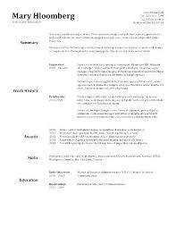 Downloadable Resume Template – Eukutak