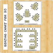 Interactive Seating Chart Classroom Seating Chart For 30 Students Classroommanagement Seating