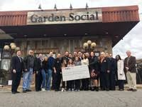 garden social celebrated at ribbon