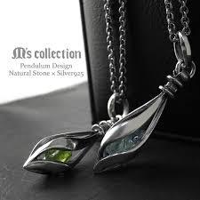aquamarine peridot sharp silver necklace mens necklace silver pendant silver 925 silver men s necklaces pendants men s necklace points 10 times 10p07nov15