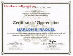 Wording For Certificate Of Recognition Sample Top Students Employees