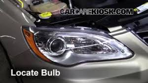 replace a fuse 2011 2014 chrysler 200 2013 chrysler 200 limited headlight change 2011 2014 chrysler 200