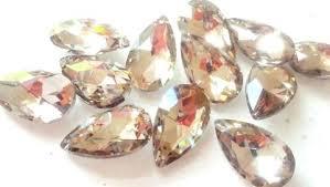 teardrop crystals chandelier parts raindrop for crystal gold prism home improvement astounding large