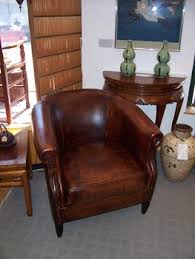 small leather chair. Small Leather Chair M