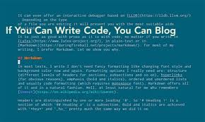 If You Can Write Code You Can Write Blogs Iod Tech Content