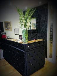 hair salon reception desk on twitter strawberry hair salon reception desk  upholstered and diamond buttoned with
