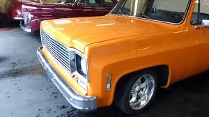 1975 Chevrolet C10 Custom Short bed - Side step - YouTube