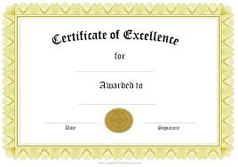 Free Downloadable Certificates Perfect Attendance Certificate Template Elegant Certificates