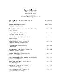 Objective For Housekeeping Resume Sample Resume Of Hotel