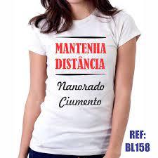 Camiseta Baby Look Mantenha Distância Namorado Ciumento no Elo7 | Web Print  Estamparia LTDA - ME (127F5F0)