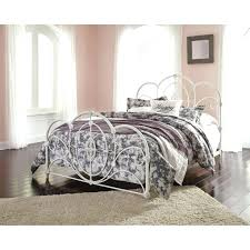 white queen size bed frame. Mesmerizing White Iron Bed Frame Queen Metal Set Rails Wrought Full Size .