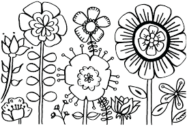 Spring Coloring Pages For Free Coloring Pages Spring The Will Love
