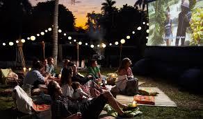 Summer Party Ideas  Live The Nekter LifeMovie Backyard