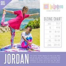 Check Out This Size Chart For Lularoe Jordan If You Need
