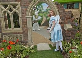 alice in wonderland garden in wonderland garden with sanctuary synthetics silver medal winner o alice in