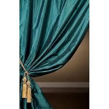 fabulous teal taffeta curtains designs with exclusive fabrics signature teal faux silk taffeta 120 inch