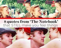 The Notebook Quotes Delectable 48 Quotes From THE NOTEBOOK That STILL Make You Feel Things