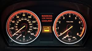 Coolant Temperature Low Indicator Light 2006 11 Bmw 3 Series E90 Engine Coolant Warning Light Solved