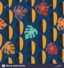 Modern Digital Design Terracotta Abstract Seamless Pattern Modern Digital Design