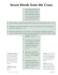 10 14 Seven Words From The Cross Byu Studies