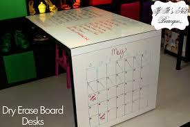 dry erase board desks for less