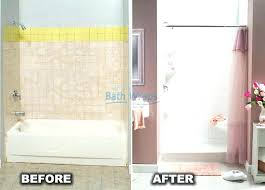 replacing tub with walk in shower replace tub with shower turning bathtub into walk shower best
