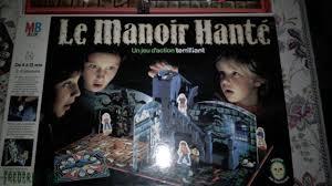 le manoir hanté mb 1985 jeu de société