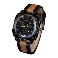 online get cheap best branded watches man aliexpress com best mens watches brand design 2017 sports men leather analog quartz watch luxury military wrist watch